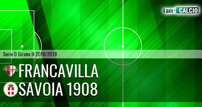 Francavilla - Savoia 1908