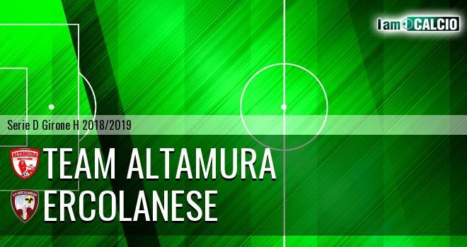 Team Altamura - Sporting Ercolano
