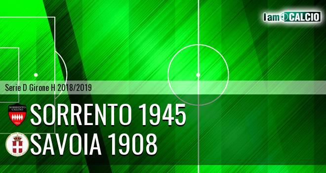Sorrento 1945 - Savoia 1908