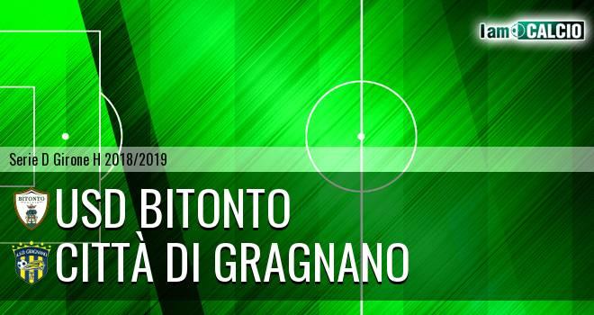Bitonto Calcio - Città di Gragnano