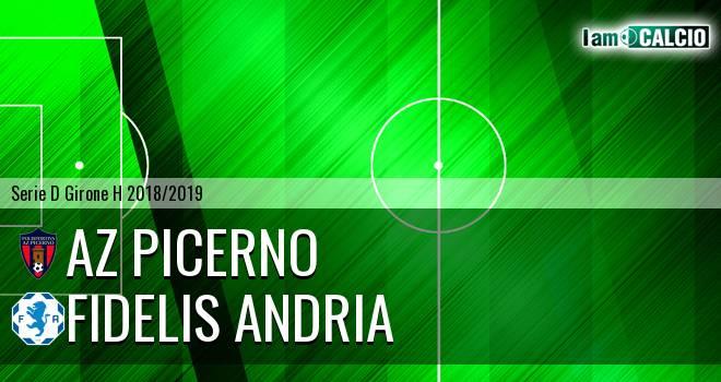 AZ Picerno - Fidelis Andria 1-0. Cronaca Diretta 10/02/2019