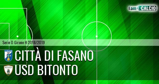 Città di Fasano - Bitonto Calcio