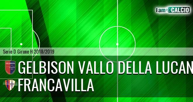 Gelbison Vallo Della Lucania - Francavilla