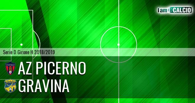 AZ Picerno - Gravina 3-0. Cronaca Diretta 06/03/2019