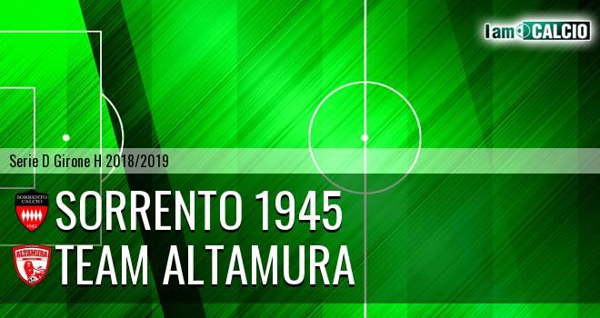 Sorrento 1945 - Team Altamura