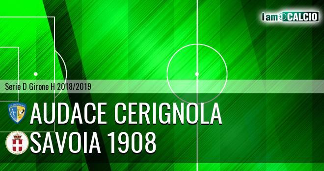 Audace Cerignola - Savoia 1908