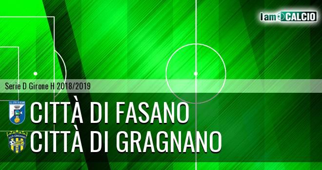 Città di Fasano - Città di Gragnano