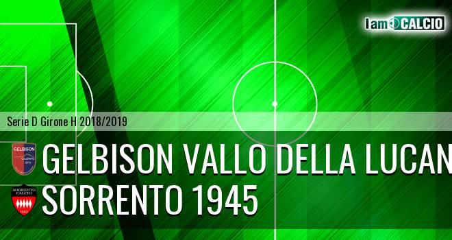 Gelbison Vallo Della Lucania - Sorrento 1945