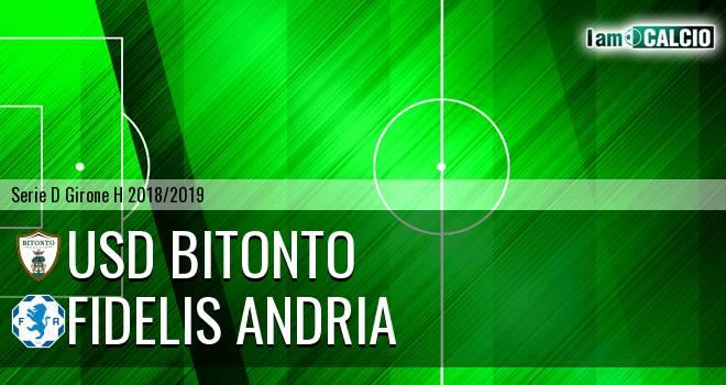 Bitonto Calcio - Fidelis Andria