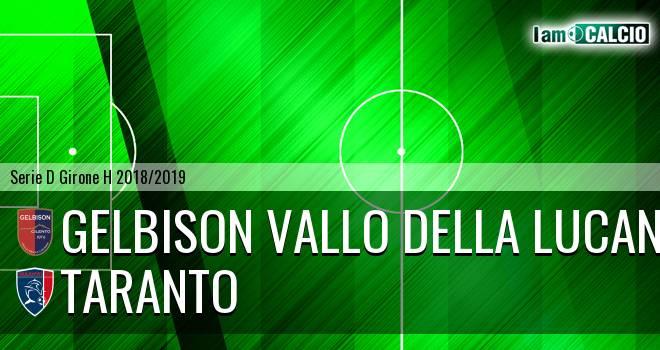 Gelbison Vallo Della Lucania - Taranto