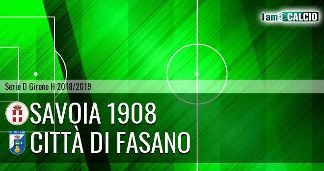 Savoia 1908 - Città di Fasano