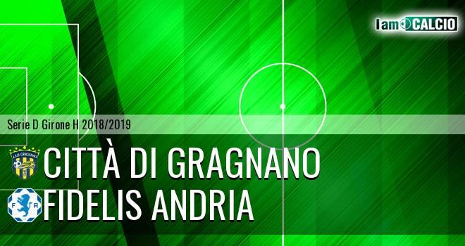 Città di Gragnano - Fidelis Andria