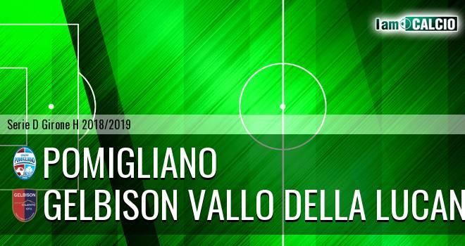 Pomigliano - Gelbison Vallo Della Lucania