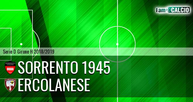 Sorrento 1945 - Sporting Ercolano
