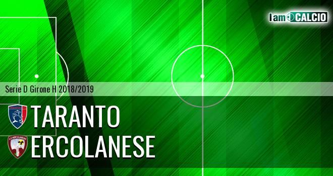 Taranto - Sporting Ercolano