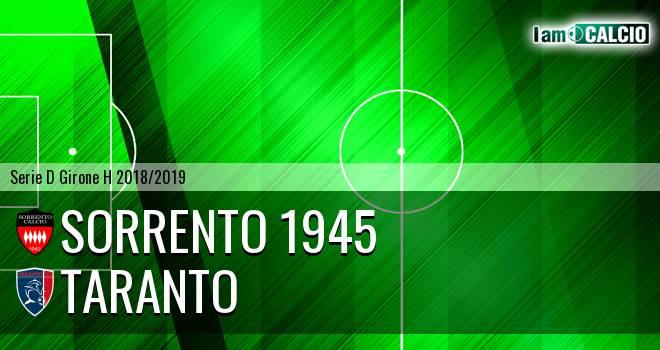 Sorrento 1945 - Taranto
