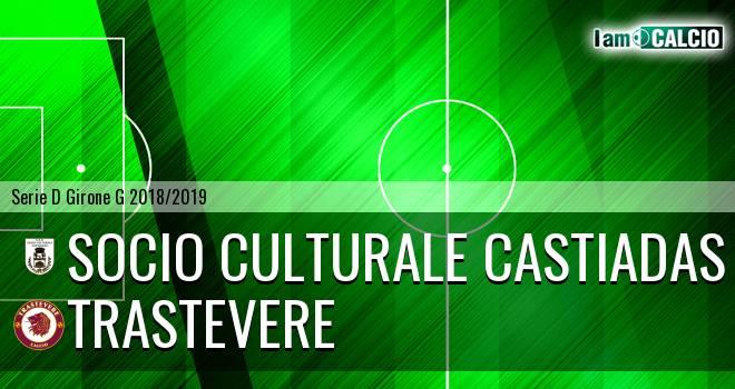 Castiadas Calcio - Trastevere