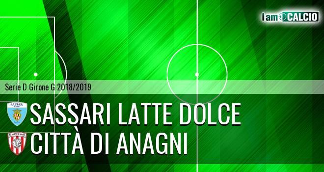 Sassari Latte Dolce - Città di Anagni