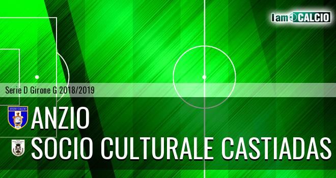 Anzio - Castiadas Calcio