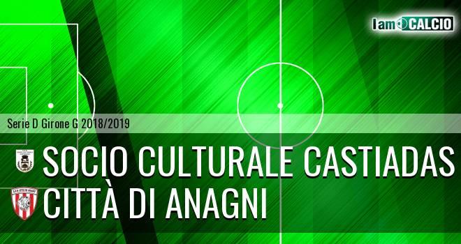 Castiadas Calcio - Città di Anagni