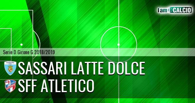 Sassari Latte Dolce - Atletico Terme Fiuggi