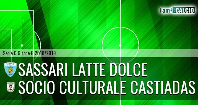 Sassari Latte Dolce - Castiadas Calcio