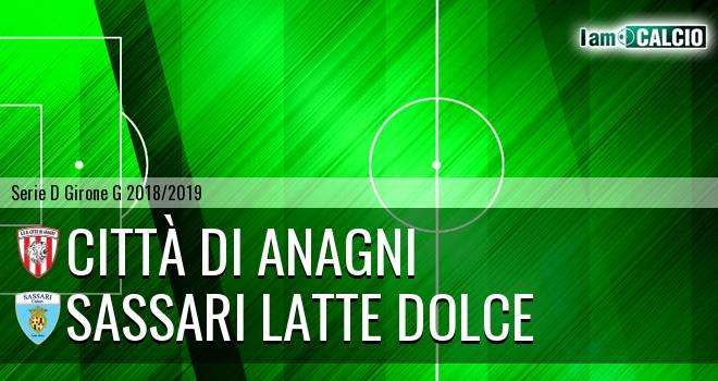 Città di Anagni - Sassari Latte Dolce