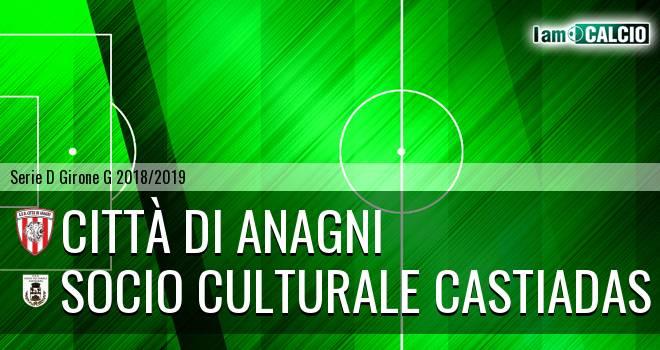 Città di Anagni - Castiadas Calcio