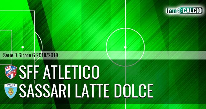 Atletico Terme Fiuggi - Sassari Latte Dolce