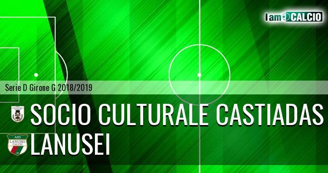 Castiadas Calcio - Lanusei