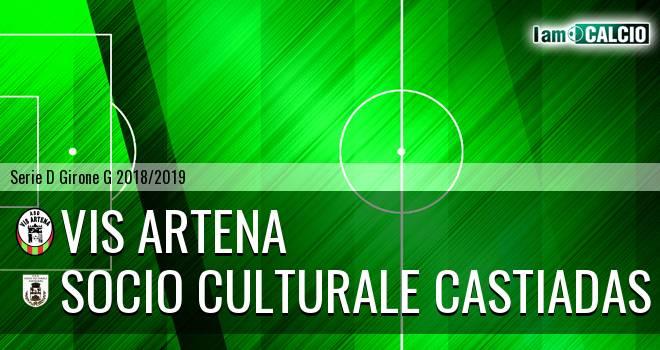 Vis Artena - Castiadas Calcio