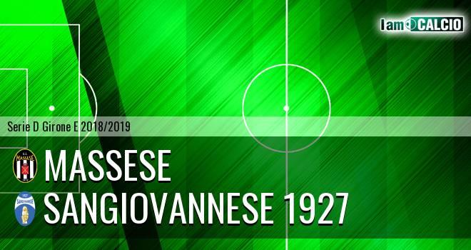 Massese - Sangiovannese 1927
