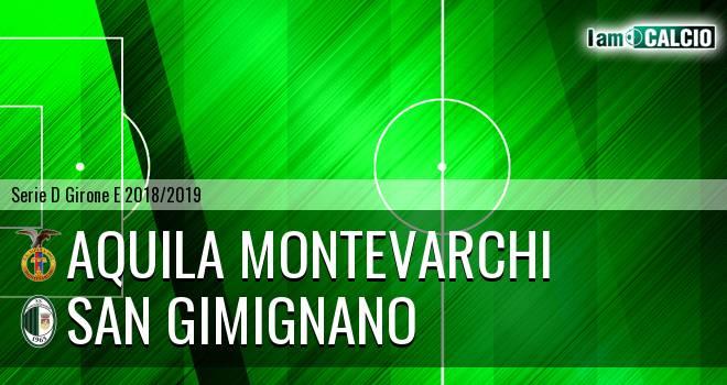 Aquila Montevarchi - San Gimignano