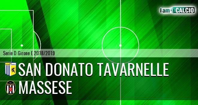 San Donato Tavarnelle - Massese