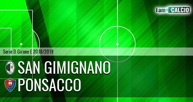 San Gimignano - Ponsacco