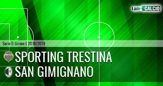 Sporting Trestina - San Gimignano
