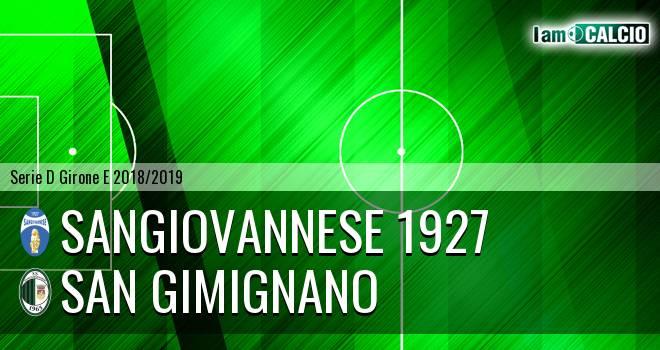 Sangiovannese 1927 - San Gimignano