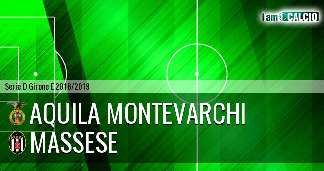 Aquila Montevarchi - Massese