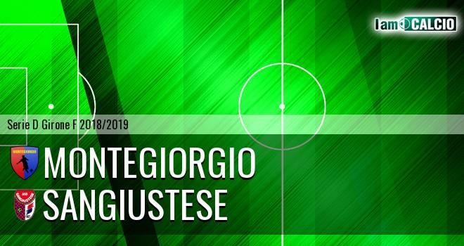 Montegiorgio - Sangiustese