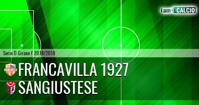 Francavilla 1927 - Sangiustese