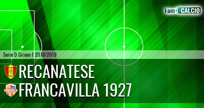 Recanatese - Francavilla 1927