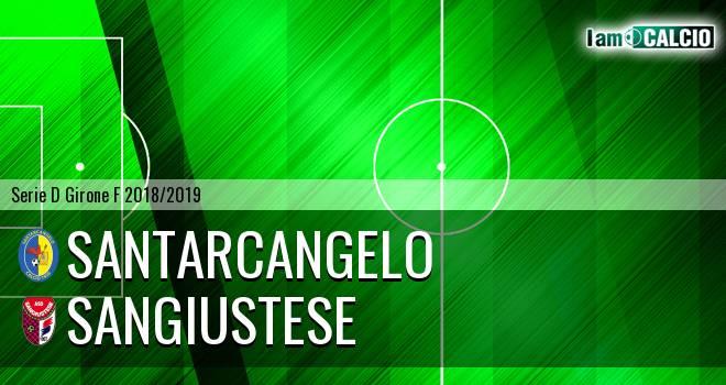 Santarcangelo - Sangiustese