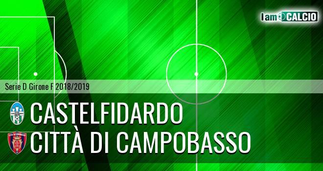 Castelfidardo - Città di Campobasso 1-3. Cronaca Diretta 09/12/2018