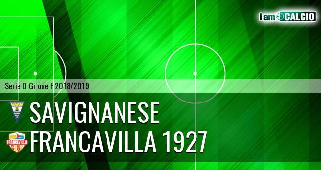 Savignanese - Francavilla 1927