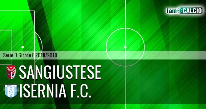Sangiustese - Isernia F.C.