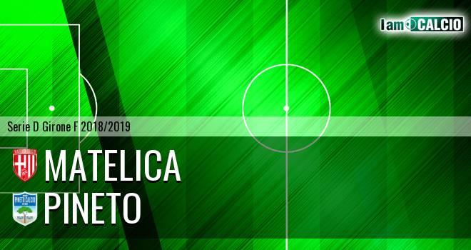 Matelica - Pineto 1-0. Cronaca Diretta 06/02/2019