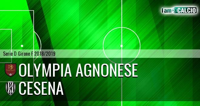 Olympia Agnonese - Cesena 1-2. Cronaca Diretta 30/01/2019