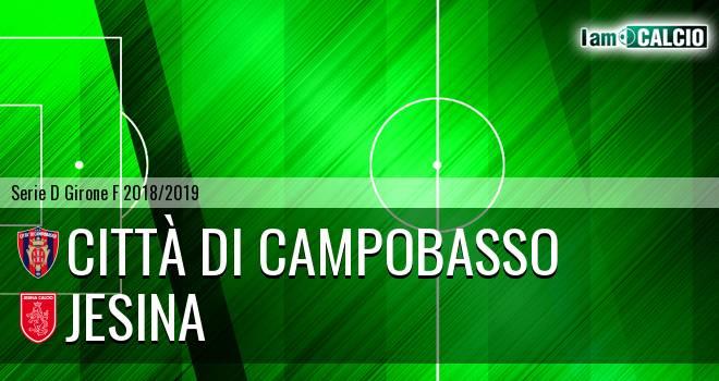 Città di Campobasso - Jesina 1-1. Cronaca Diretta 27/01/2019