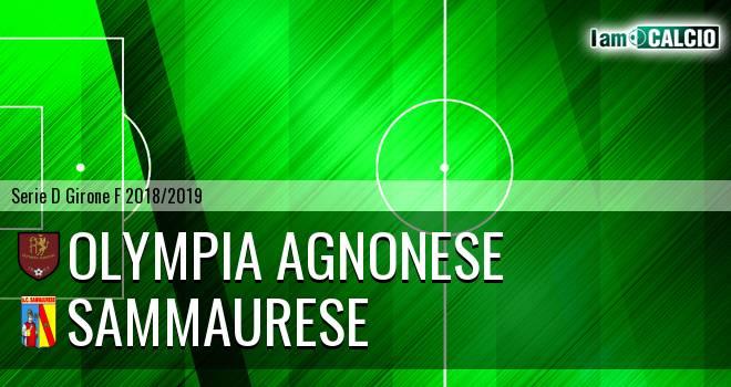 Olympia Agnonese - Sammaurese