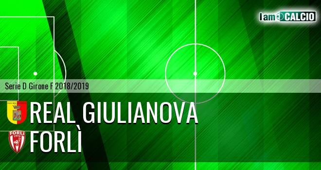Real Giulianova - Forlì